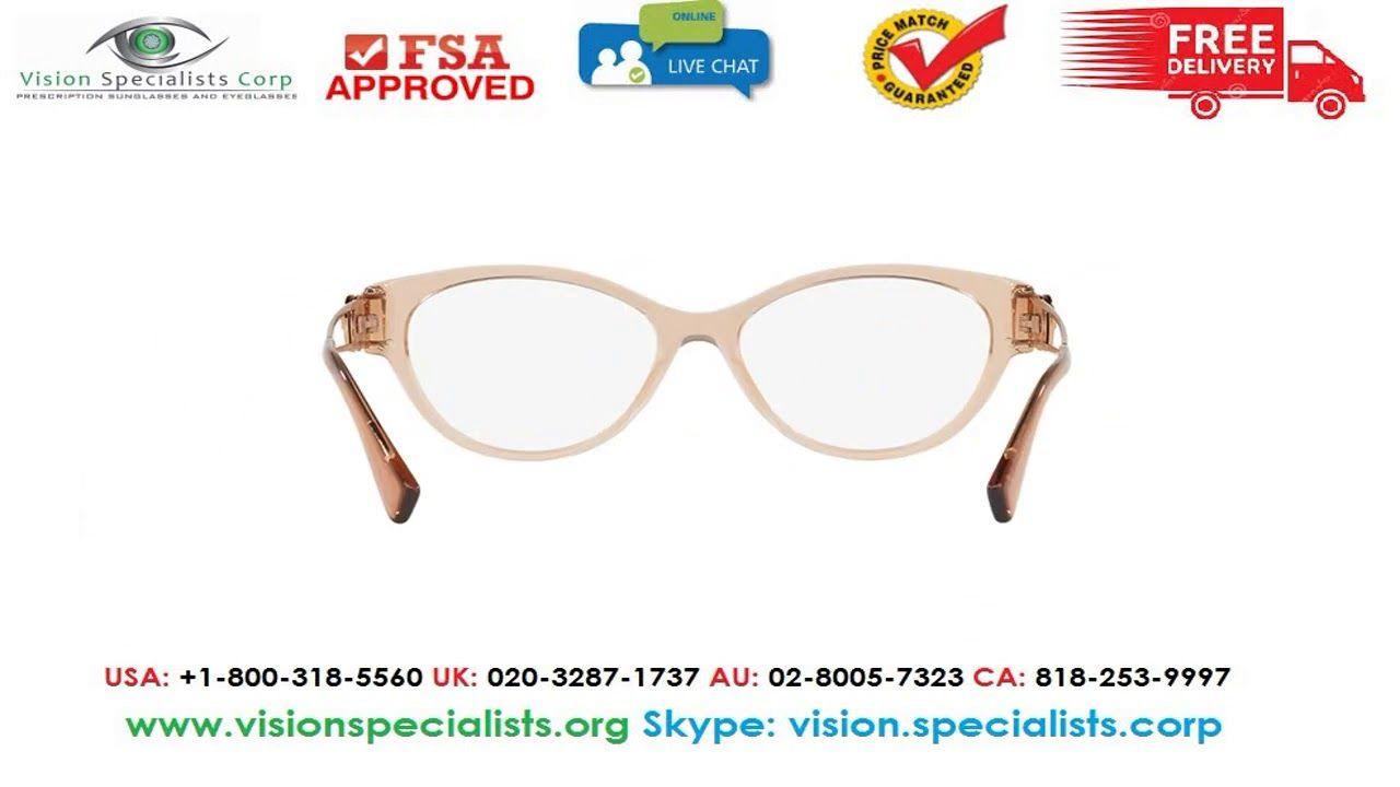 97625f455da4 Versace 0VE3254 5215 Glasses | VERSACE EYEGLASSES | Versace ...