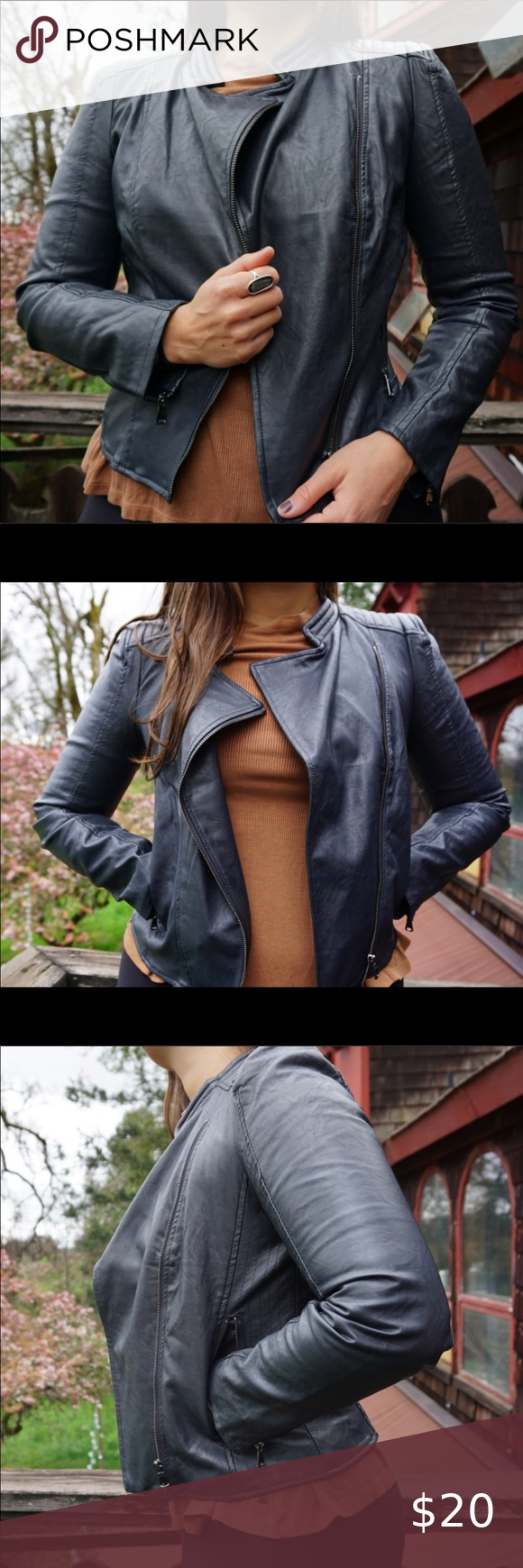 Forever 21 Faux Leather Jacket in 2020 Leather jacket