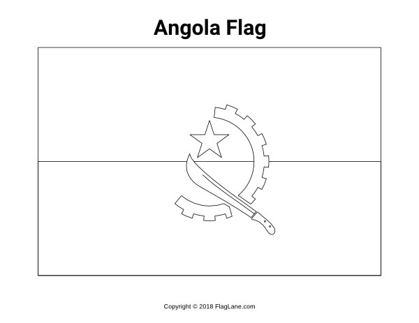 Free Printable Angola Flag Coloring Page Download It At Https Flaglane Com Coloring Page Angolan Flag Flag Coloring Pages Coloring Pages Angola Flag