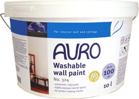 Auro 324 Pro Washable Emulsion Natural Resin Oil Paint Hard Wear Natural Wall Paint Wall Painting Paint For