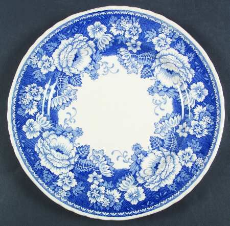 Blue And White Plates mason's blue & white at replacements, ltd | everyday dishware