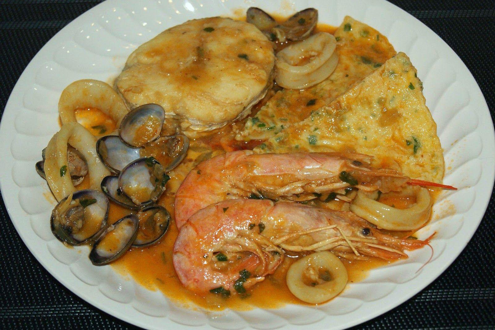 Anna recetas f ciles zarzuela de pescado cocina for Cocinar zarzuela
