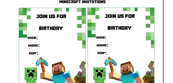 10 Diy Minecraft Birthday Party Ideas Carter S Birthday