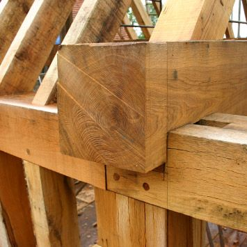 True Timber Frame Homes Used Joinery With No Nails From