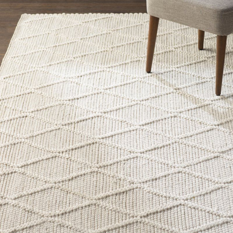 Billie Hand Tufted Wool Ivory Area Rug In 2020 Area Room Rugs Farmhouse Area Rugs Living Room Area Rugs