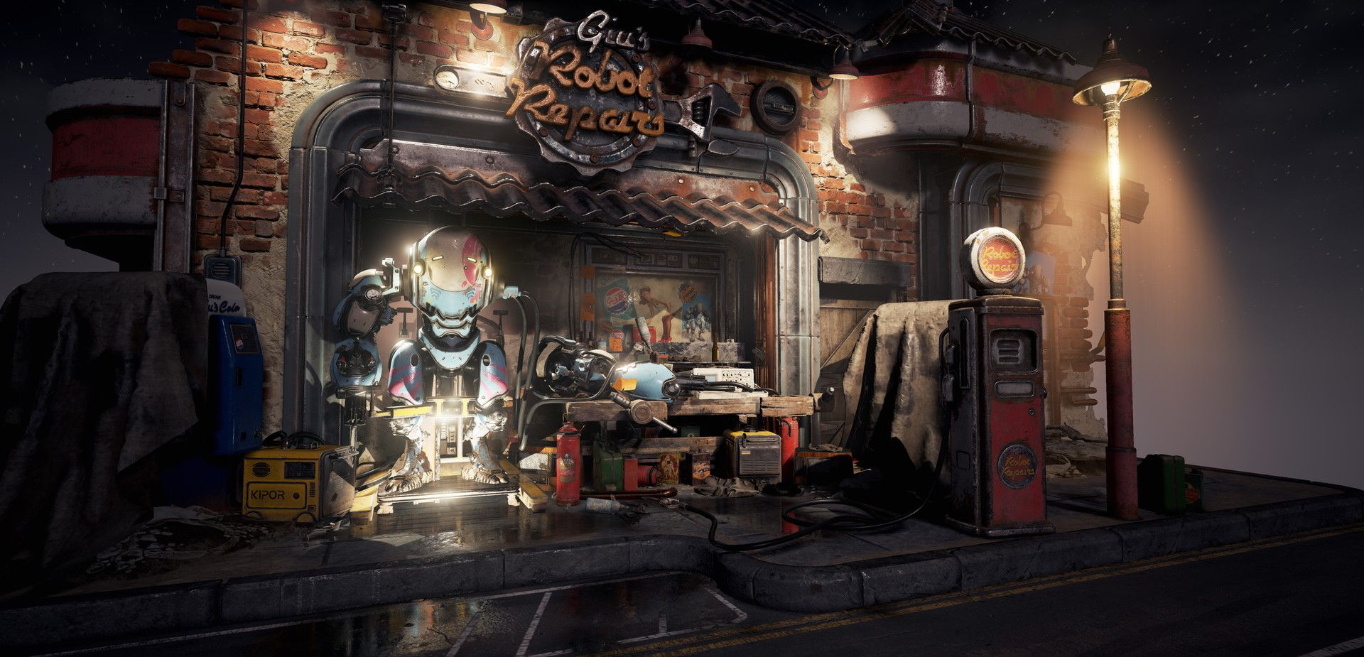Artstation Is The Leading Showcase Platform For Games Film Media Amp Entertainment Artists Diorama Props Concept Environmental Art