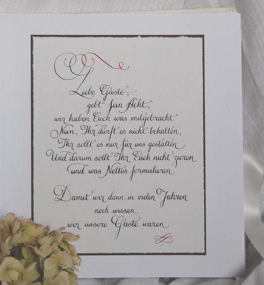 Gastebuch Text Hochzeit Gastebuch Hochzeit Geschenke Zur