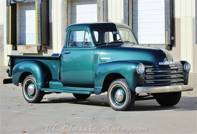 1951 Chevrolet 3100 Pickup 5 Window 4spd For Sale In Lenexa Kansas Old Car Online Chevy Trucks For Sale Classic Cars Trucks Old Trucks For Sale