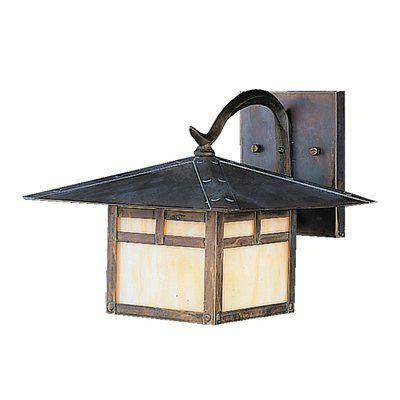 Kichler Lighting 9724CV La Mesa Outdoor Sconce, Carré Bronze®