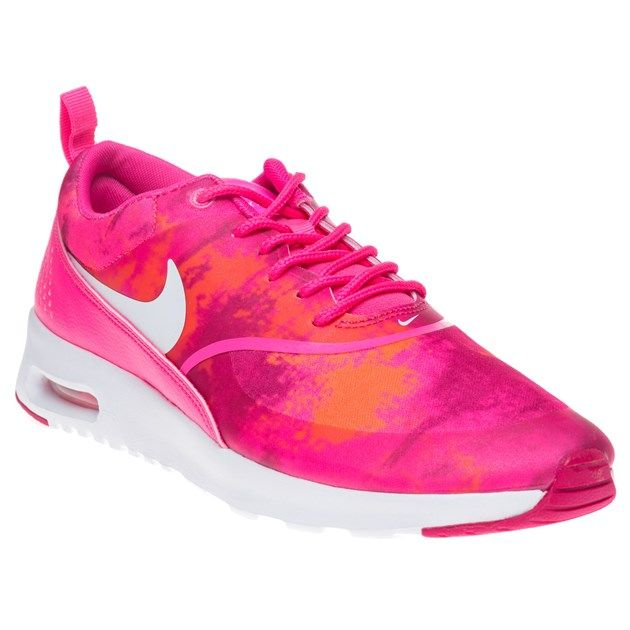 Womens Pink Nike Air Max Thea Print Trainers at Soletrader  e285d7cf6