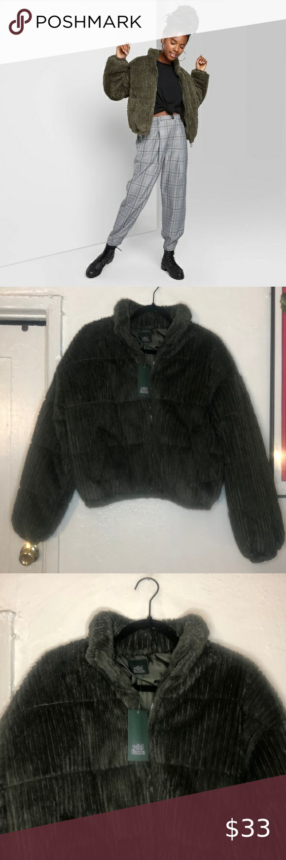 Wild Fable Feathered Cord Puffer Jacket Soft Jacket Puffer Jacket Long Clothes Design [ 1740 x 580 Pixel ]
