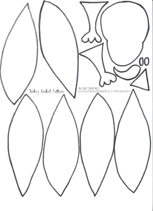 image relating to Turkey Feather Template Printable known as Pin through Robin Alspach upon Clroom Turkey template