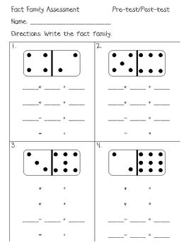 Number Names Worksheets printable fact family worksheets : 1000+ images about Math - Fact Families on Pinterest