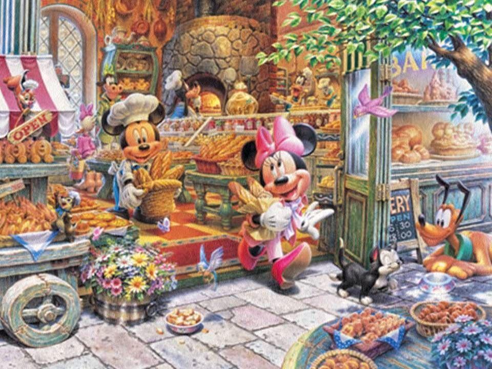 Dibujos Walt Disney Bebes: Mickey & Minnie Mouse