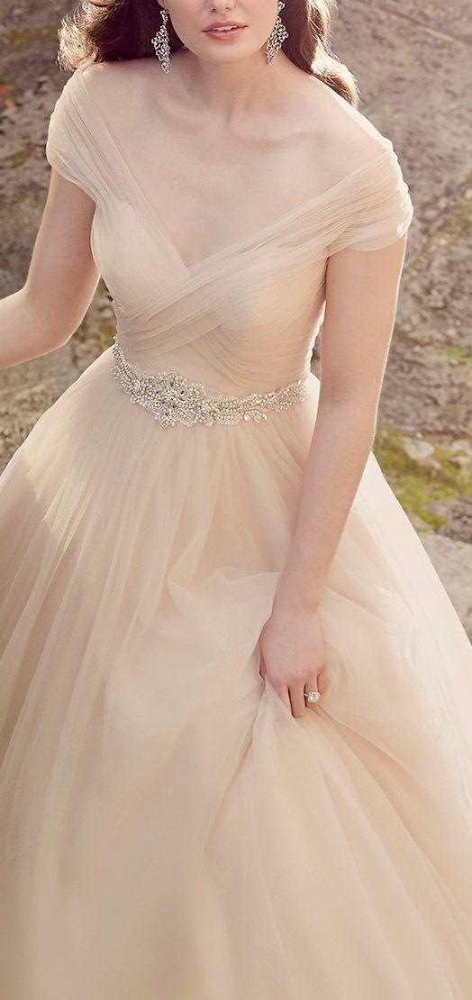 Off The Shoulder Champagne Ballgown Wedding Dress Modwedding Ball Gowns Wedding Wedding Dress Train Sweep Train Wedding Dress