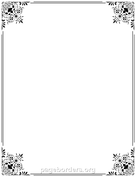 Printable Fancy Border. Use The Border In Microsoft Word Or Other Programs  For Creating Flyers  Free Microsoft Word Border Templates