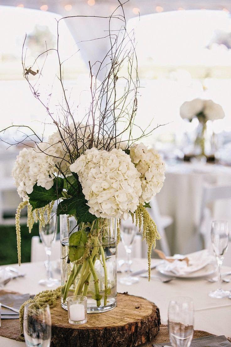 11 arreglos florales para boda decora tu boda con flores for Centro de mesa rustico