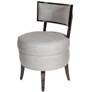 High Back Swivel Vanity Chair