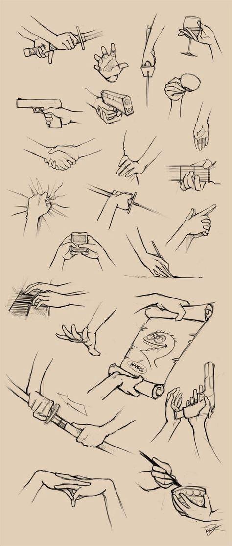 Hilfreiche Zeichnungsanleitungen und Referenzen. – #Hilfreiche #holding #Referen… #drawings #art #pencildrawingtutorials