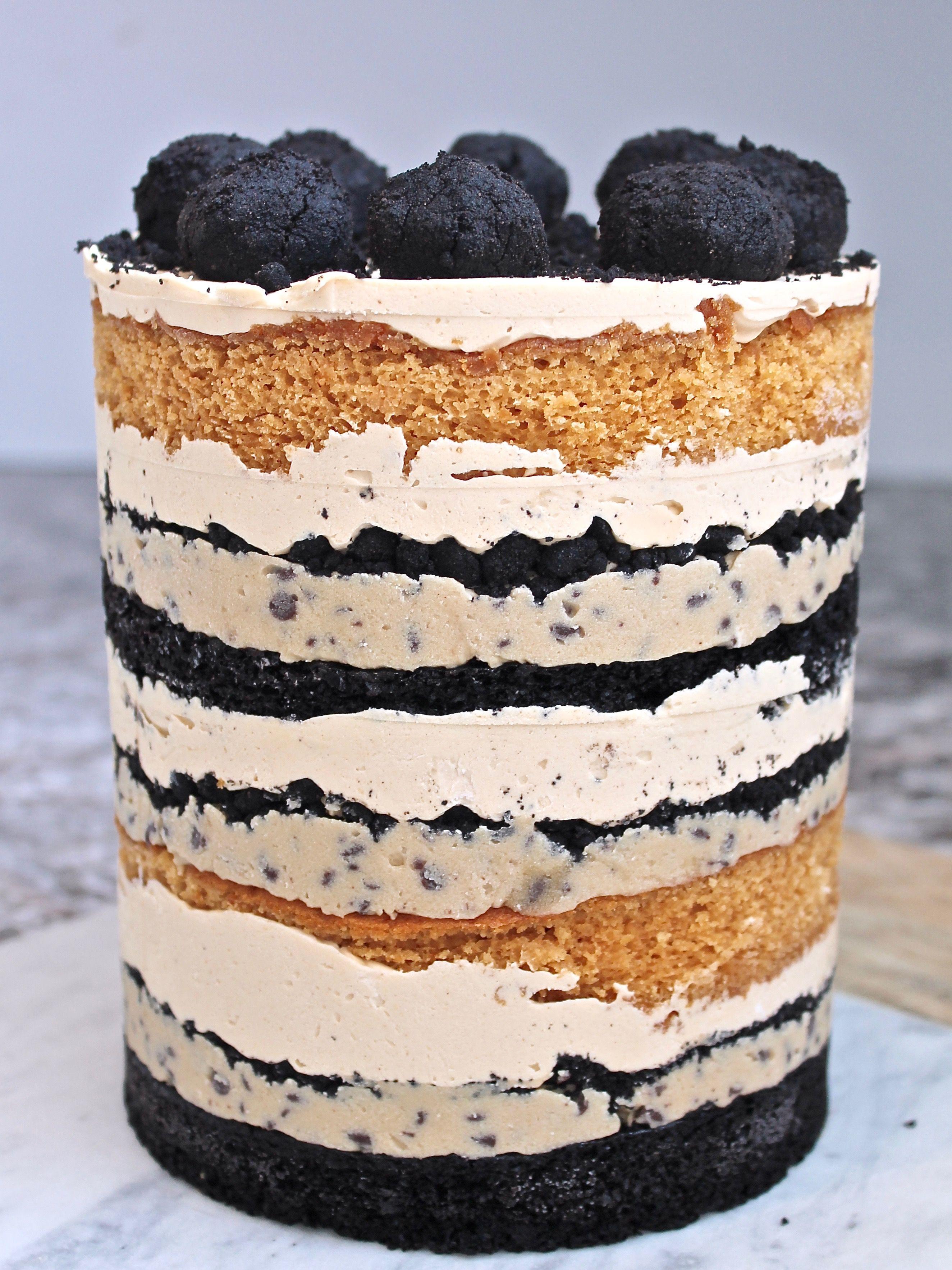 Ben and jerrys inspired tonight show cake no bake cake