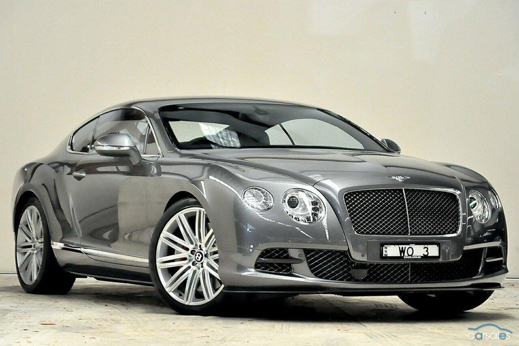 2013 Bentley Continental 3W GT Speed MY13 Sports Automatic