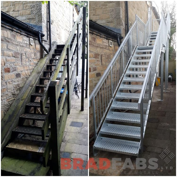 Best Wow What A Great Transformation Of A Fire Escape By Our 400 x 300