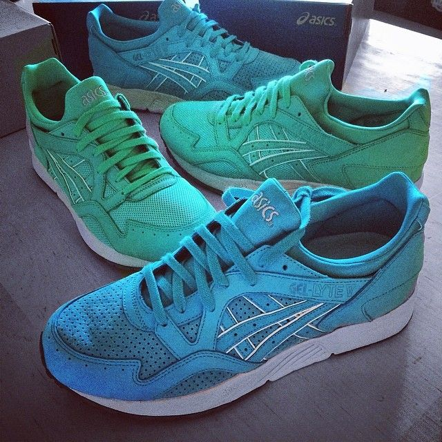 Ronnie Fieg X Asics Gel Lyte V Mint Leaf Cove Asics Gel
