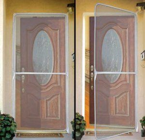 Instant Screen Door By Bos 14 95 Our Foldable Instant Screen Door Protects From Mosquitoes Midges And Other Instant Screen Door Diy Screen Door Screen Door