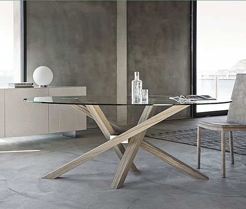 Shanghai big solid wood extendable dining table the shangai big solid wood extendable dining table is a veritable contemporary design chameleon