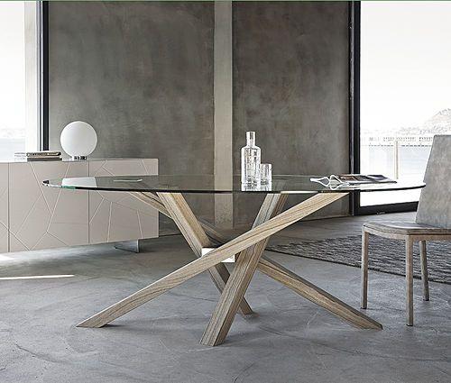 tavolo rotondo shangai riflessi in cristallo tavoli da