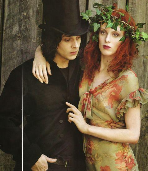 Jack and Karen by Annie Leibovitz