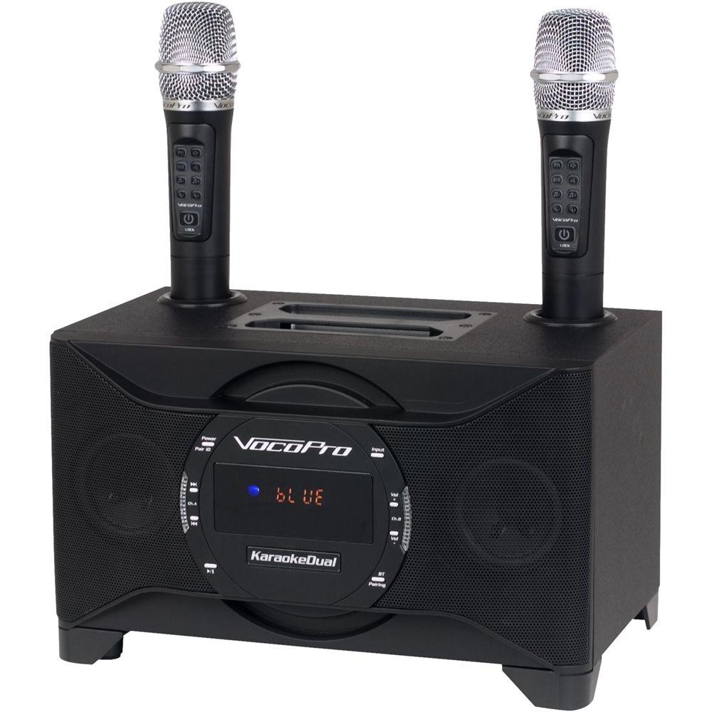 VocoPro - Karaoke System - Black | Products | Karaoke ...