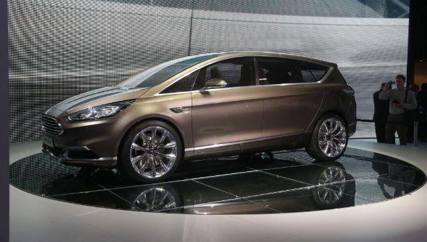 2015 Ford C Max Hybrid Sel Hatchback White Platinum Ferman
