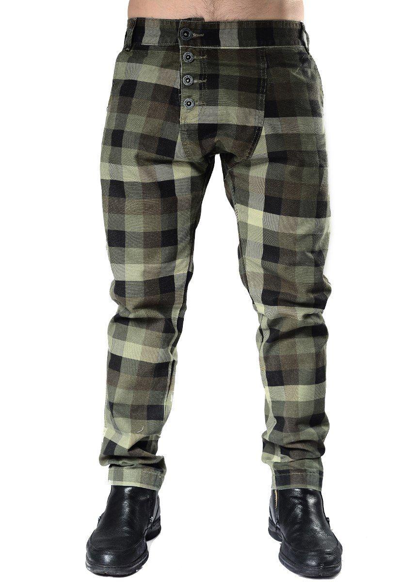 44fa7e4d0 calça jeans masculina saruel xadrez adulto federal art 05