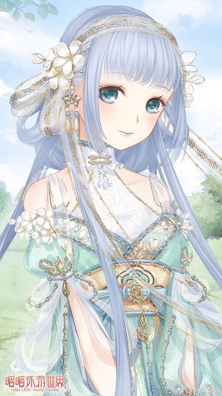 Gambar Animasi, Gadis animasi, Seni manga