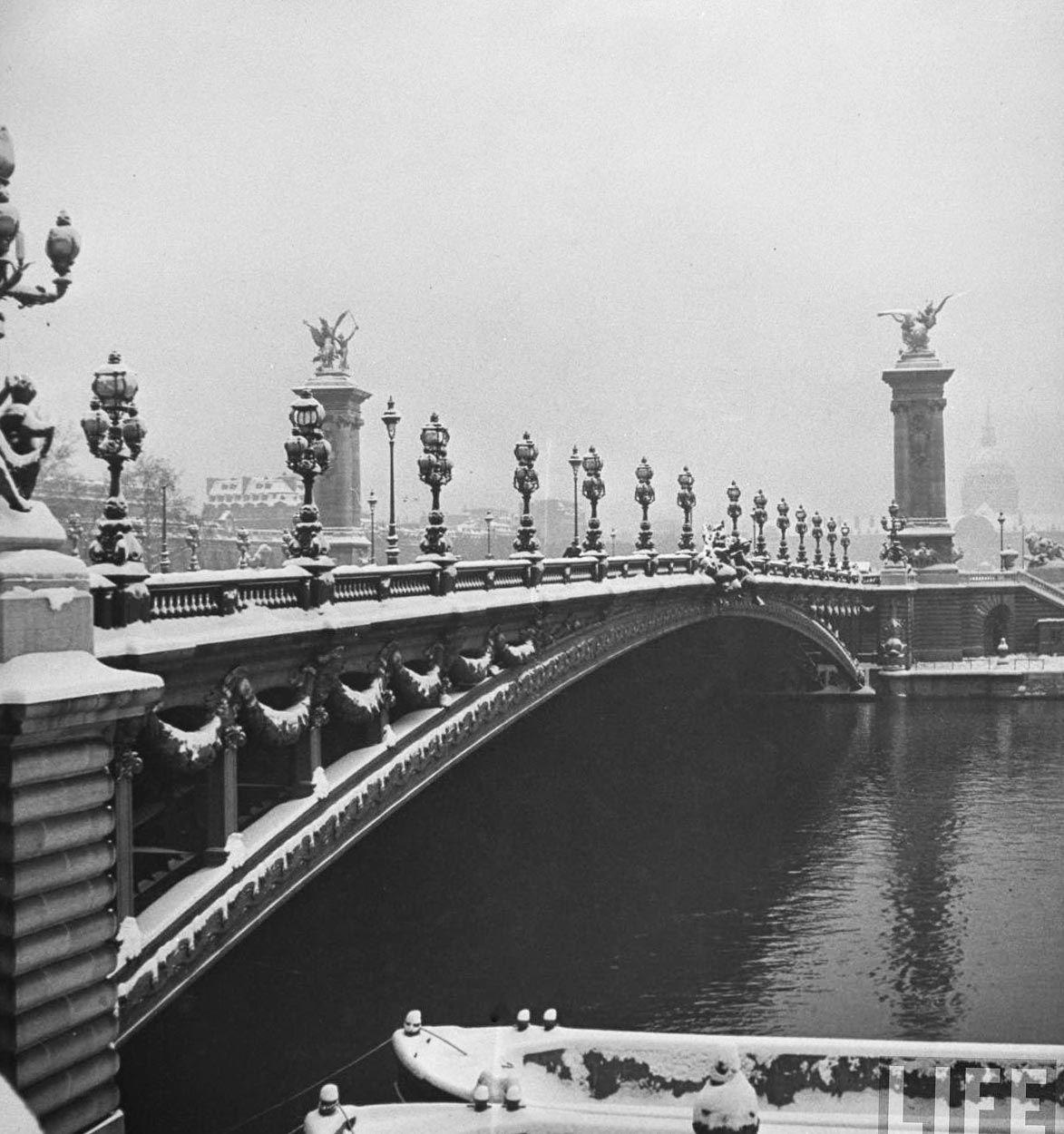 Image result for old alexandre iii bridge