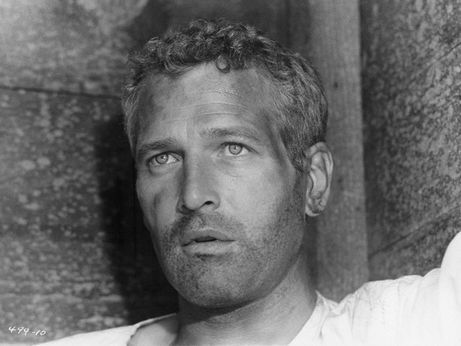 """Asked about his epitaph Newman deftly replied """"Here lies Paul Newman, a failure, because his eyes turned brown."""""""
