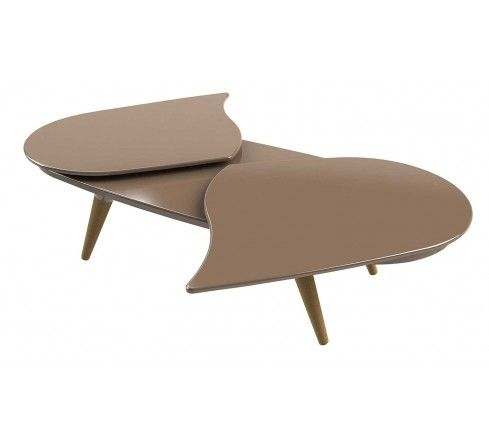 8 Taupe, table basse outdoor éco design en bois et résine bio, meuble de jardin écologique, Isidore, made in France. http://www.greeen-store.com/fr/meubles-de-jardin/8608-Table-basse-8-taupe-isidore-outdoor-eco-design.html
