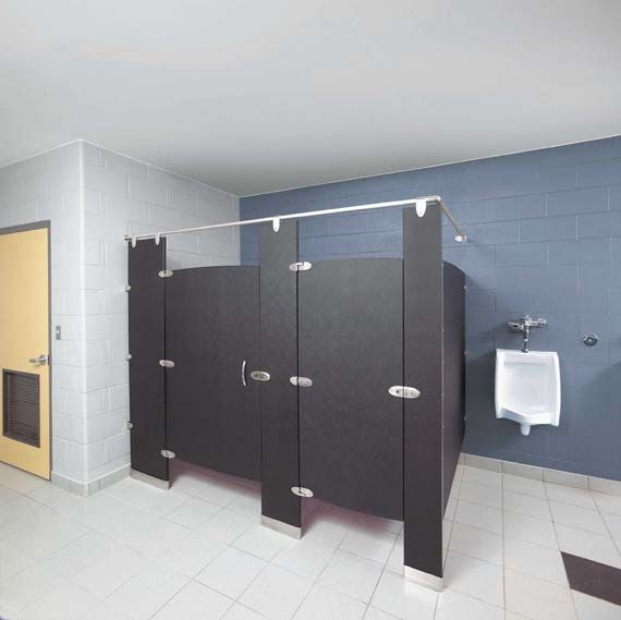 Prefabricated Bathroom Dividers For Public Bathroom Design