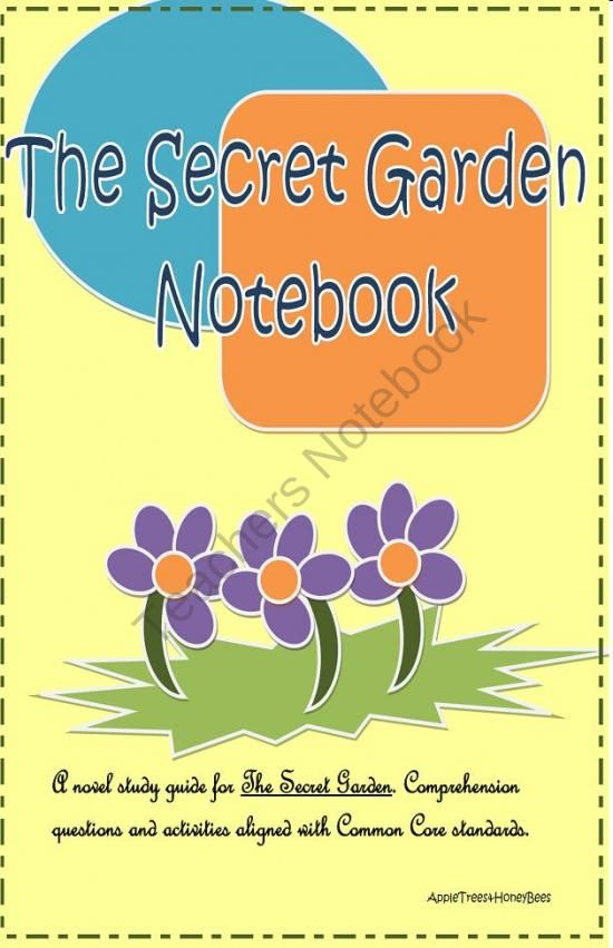 The Secret Garden Common Core Core Knowledge From Appletrees Honeybees On
