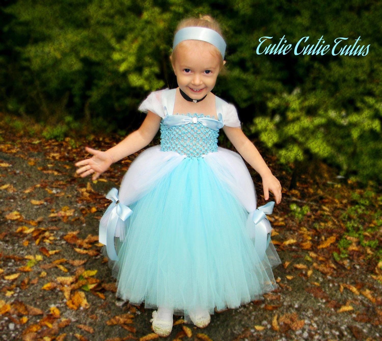 Cinderella Disney Princess Tutu Dress Nb5yrs By