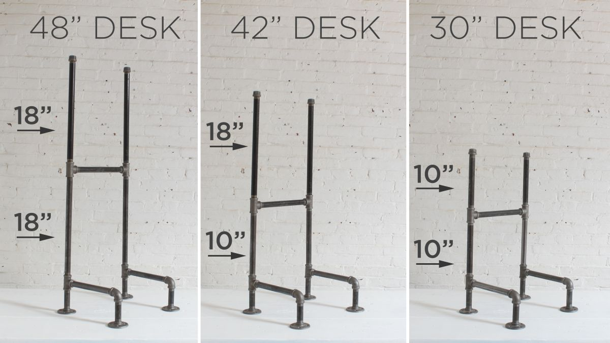DIY Plumbers Pipe Standing Desk | diy decor | Diy standing desk