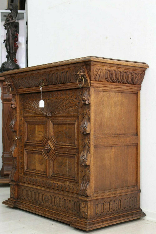 Kom332 Antik Kommode Anrichte Grunderzeit Um 1880 Mechelen Eiche Ebay In 2020 Kommode Antik Anrichte Antik