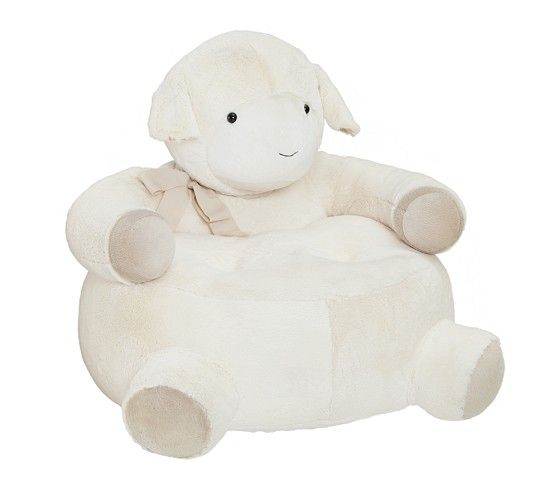 Lamb Critter Chair Pottery Barn Kids Baby Boy Room
