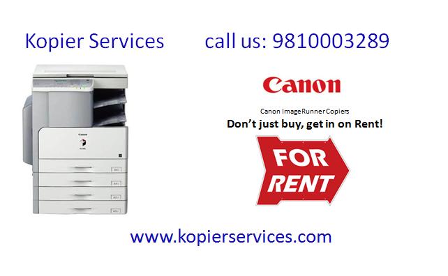 Don T Worry To Buy Copier Just Hire Canon Xerox Konica Minolta