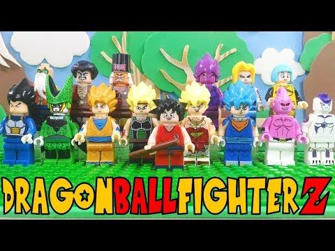 Lego Dragon Ball FighterZ - Knockoff Minifigure Review | Other ...