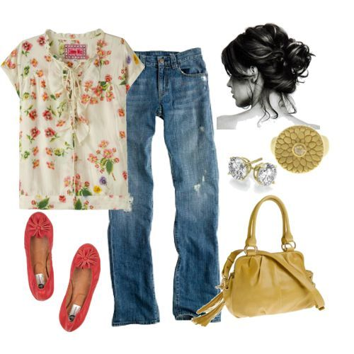 casual mom style!