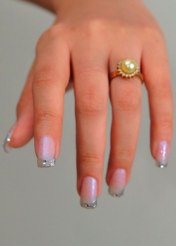 exotic nails with nail jewelry | gel-nail-art-general-exotic-gray ...