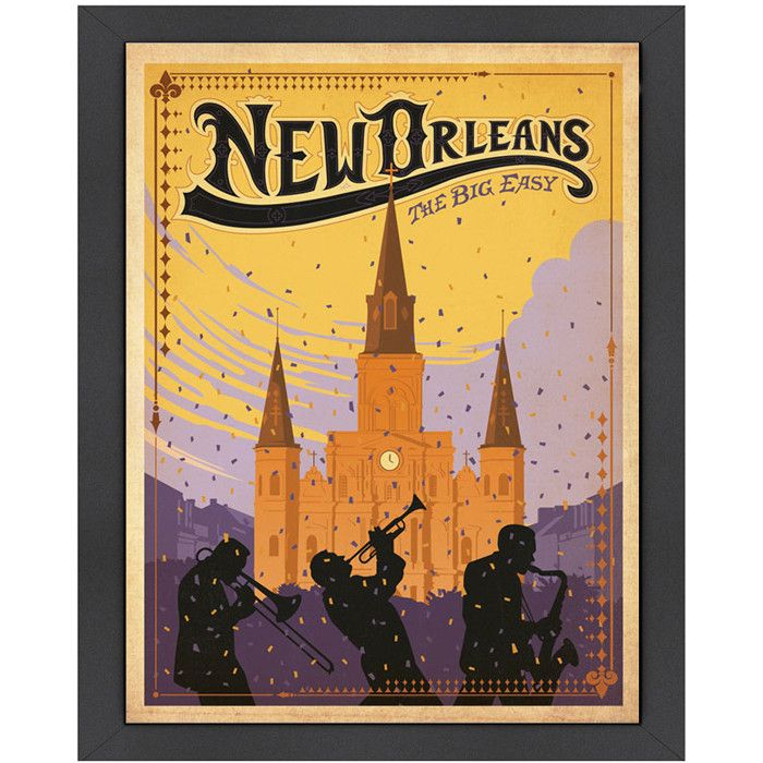 New Orleans Wall Art | New Orleanian Style | Pinterest | Travel ...