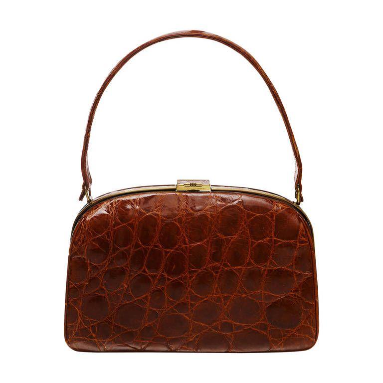 1stdibs Vintage Black Beaded Shoulder Bag With Floral Detail - Circa 1950s w49lVB